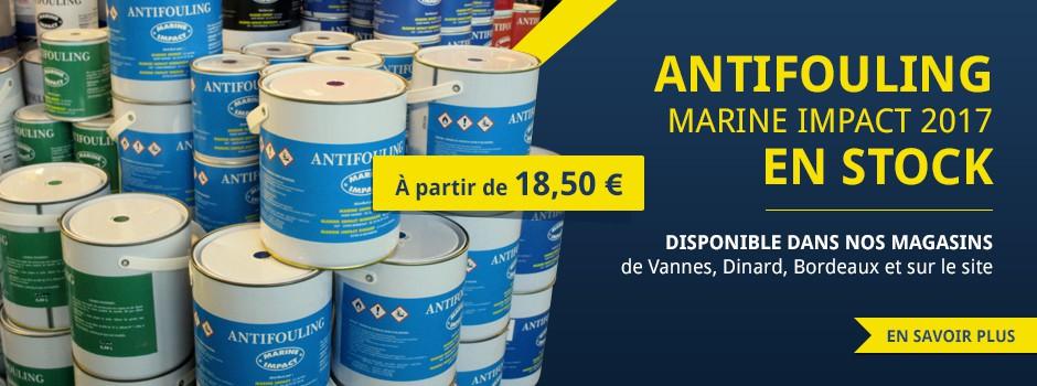 Antifouling marine impact en stock