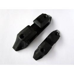 Chaumards noir nylons