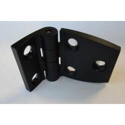 Charnière plastique noire