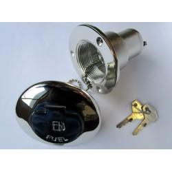 Nable de remplissage en laiton chromé à clé Ø38mm Essence