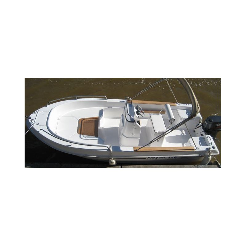 bateau coque rigide dipol fragata 510