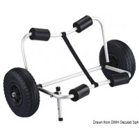 Chariot trolley pliable
